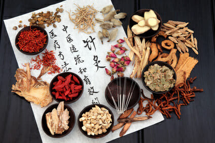 Acupuncture Needles With Chinese Herbs